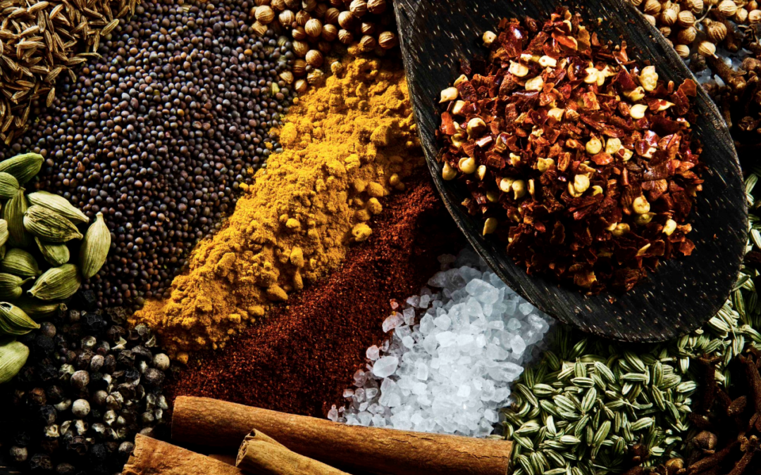 Herbs and spices for Easter