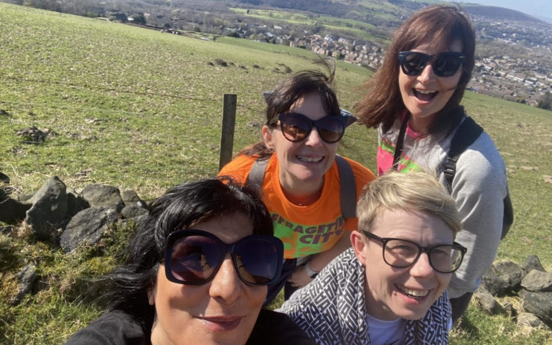 Tasneem is fundraising for Healing Little Hearts with a 20-mile Welsh hike